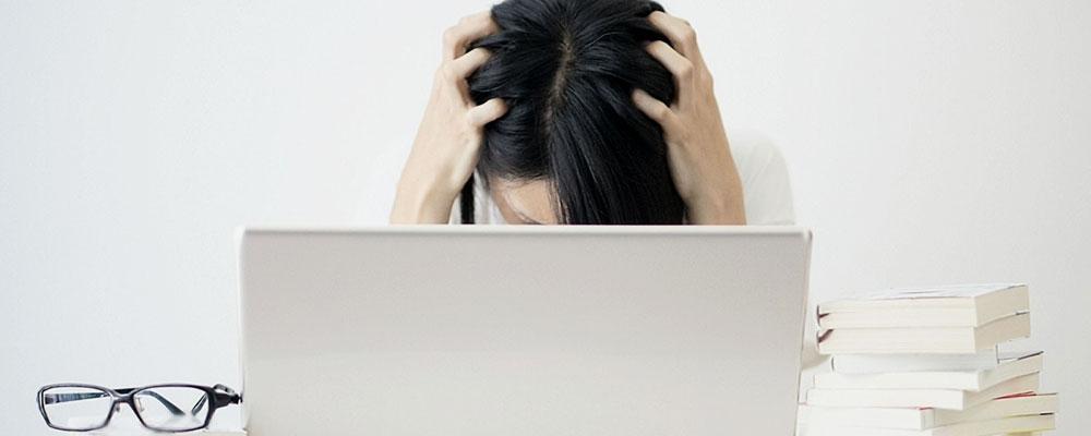 就職活動に大苦戦のイメージ画像