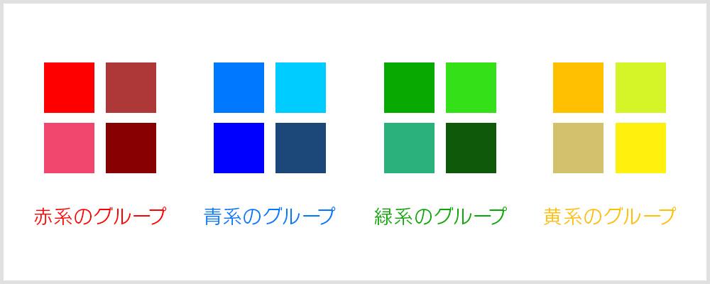 色相の説明